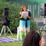 La poetessa Angelica Piras