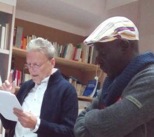 Incontro con Boucar Wade - Circolo dei lettori di Elmas