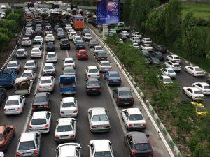 Traffico a Tehran