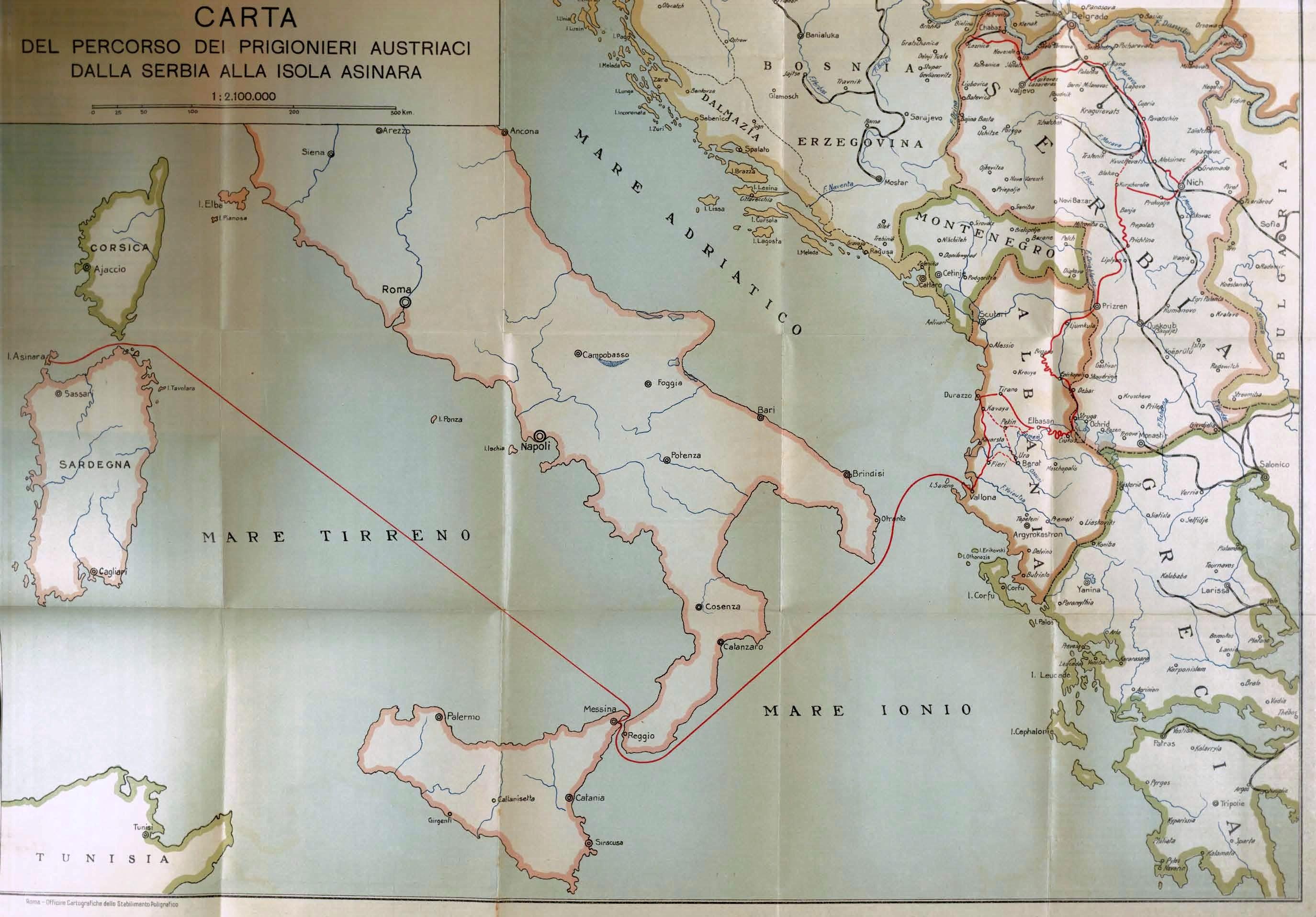 """Cent'anni dalla Prima Guerra mondiale – """"I dannati dell'Asinara"""", percorso bibliografico attraverso """"l'altra faccia della guerra"""""""