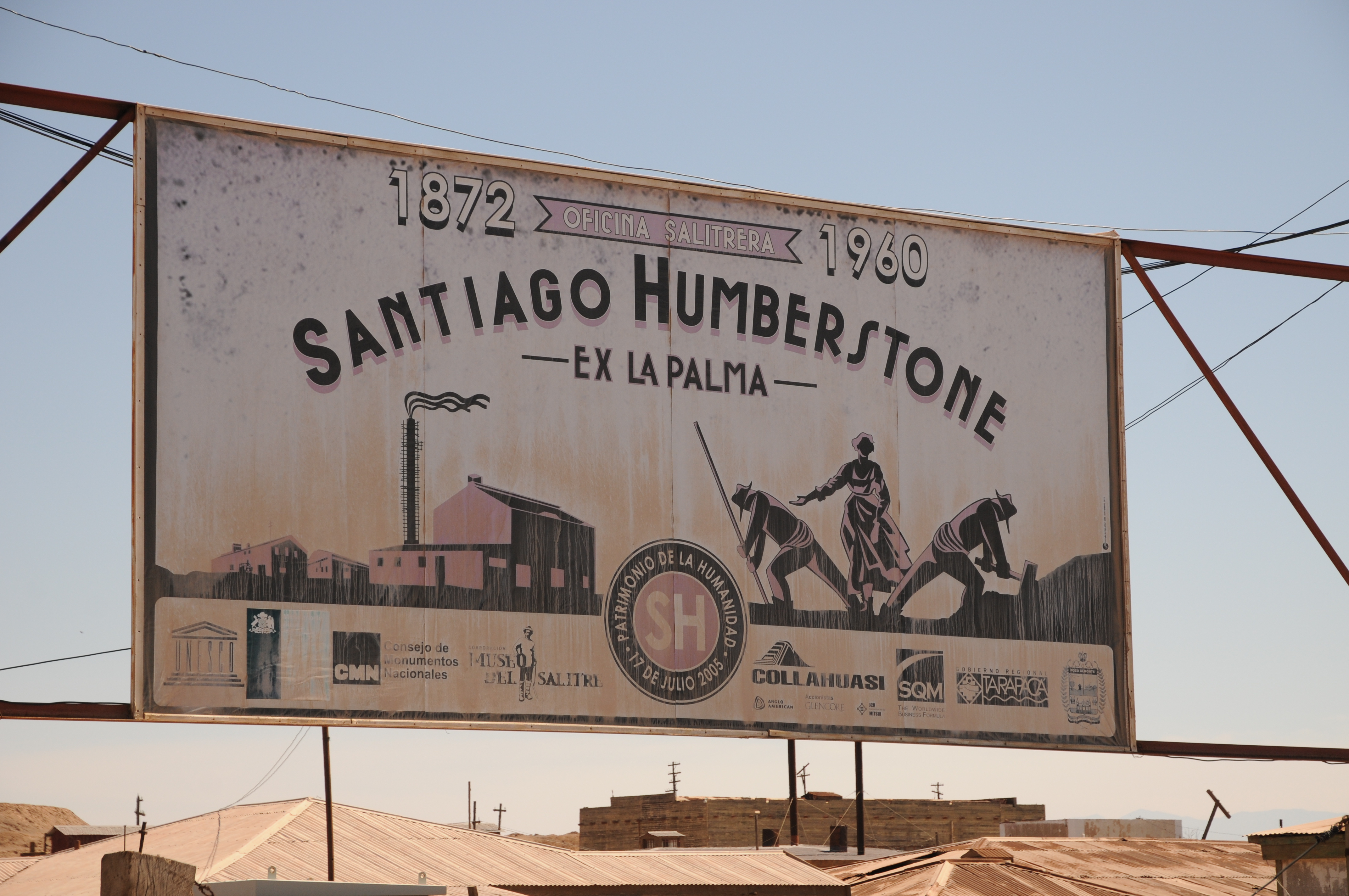 Diario di viaggio 1: Humberstone (Cile) – 1 dicembre 2017